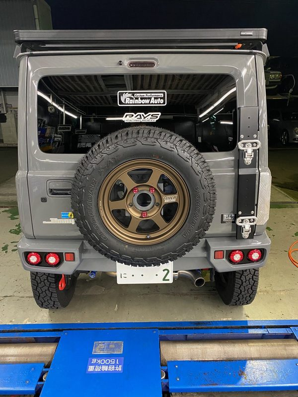 JB64 背面タイヤ